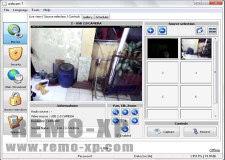 Tutorial Membuat CCTV Dengan Webcam